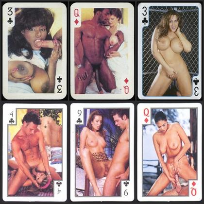 Коллекция порнографических карточек