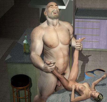 Секс с великаншей