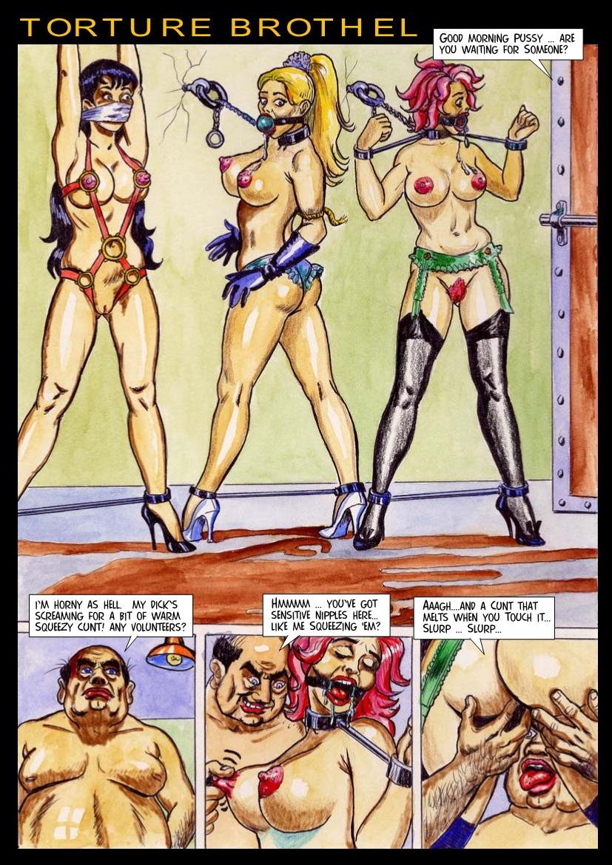 Пытки рабынь комиксы на русском 3 фотография