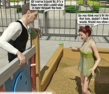 With a dad on child's ground [3d Incest Porno Comics]