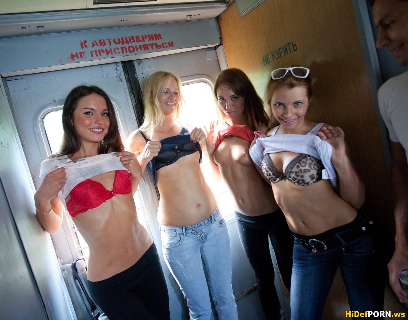 Руские студентки на отдыхе 7 фотография