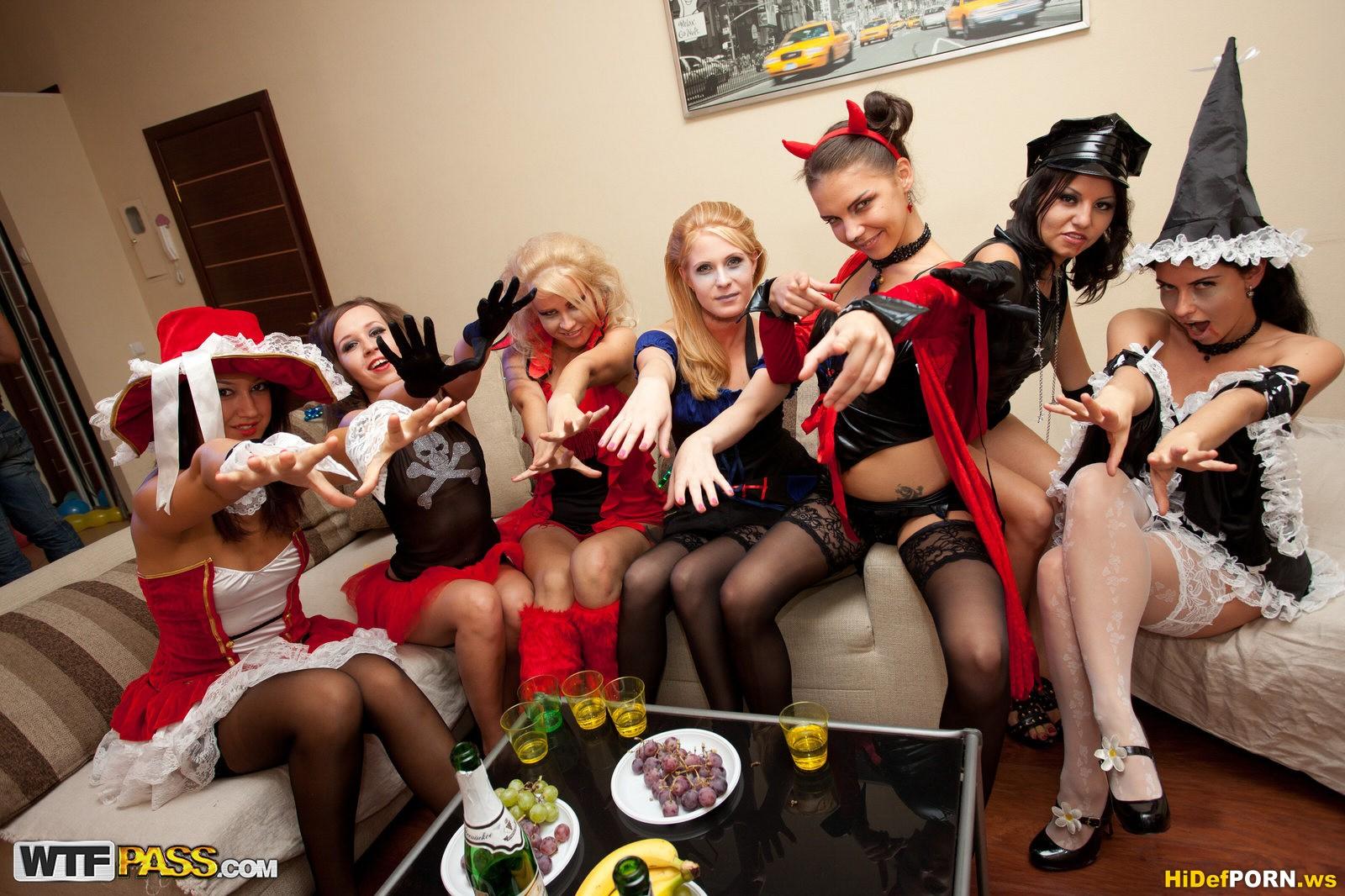 Русский секс хэллоуин 4 фотография
