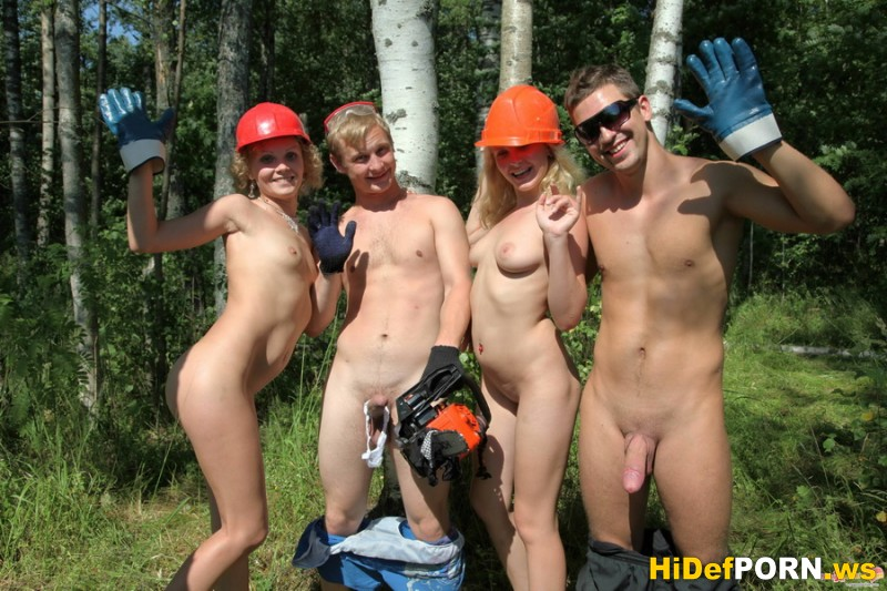 Смотреть фотогрупповуха в лесу фото 505-35