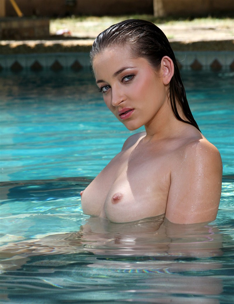 BikiniRiot.com - Dani Daniels - Pink Thong in the Pool [HD 720p]