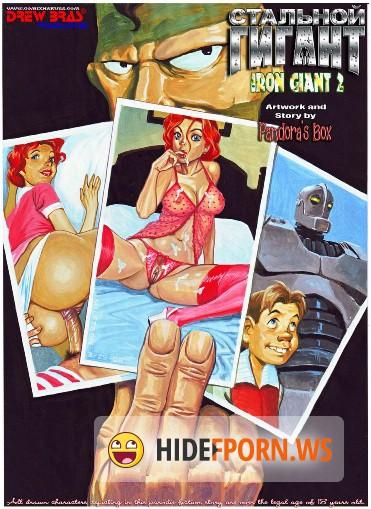 Comics Iron Giant 2 PDF 17 pages 13.87 MB Комикс для взрослых.