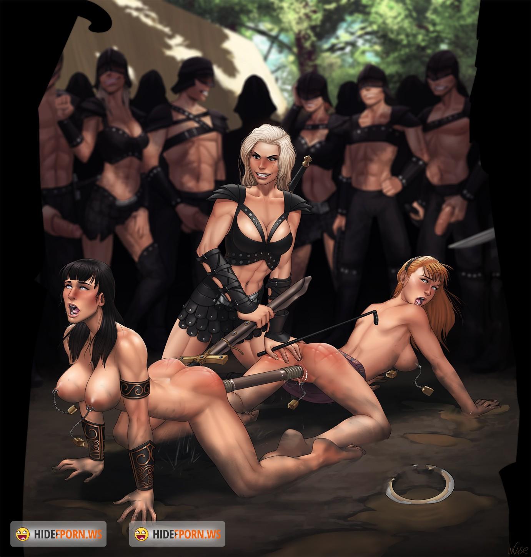 Эротическая пародия на зена королева воинов 19 фотография