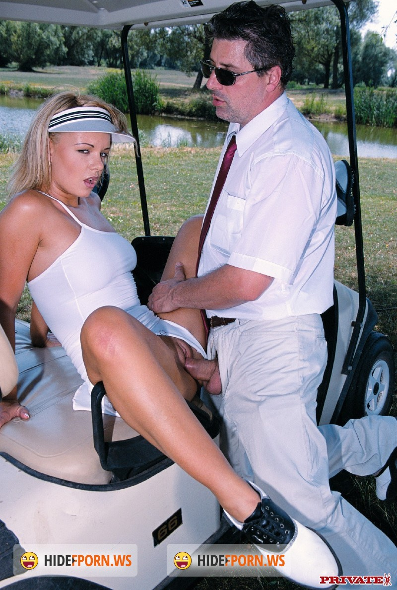 Sex on a golf cart porn