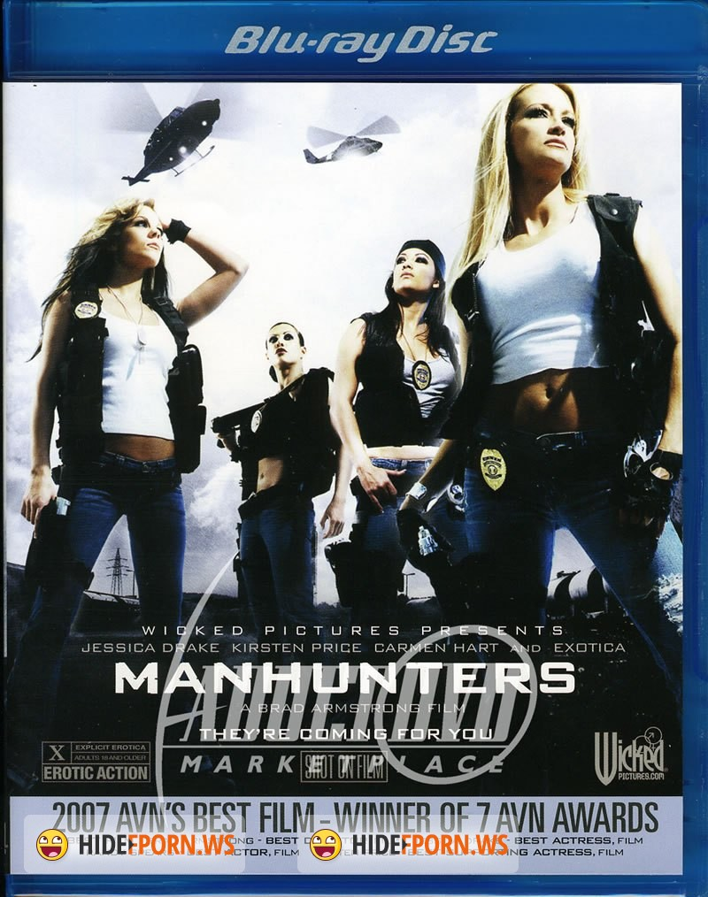 manhunters porno Innocent coed girls turn into manhunters.