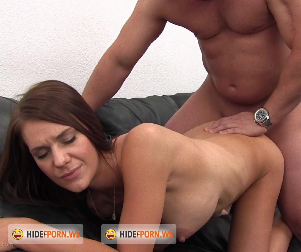 Big tits sofa
