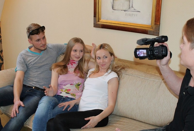 YoungSexParties.com - Alice, Vika - Teens fuck and shoot it on cam [HD 720p]