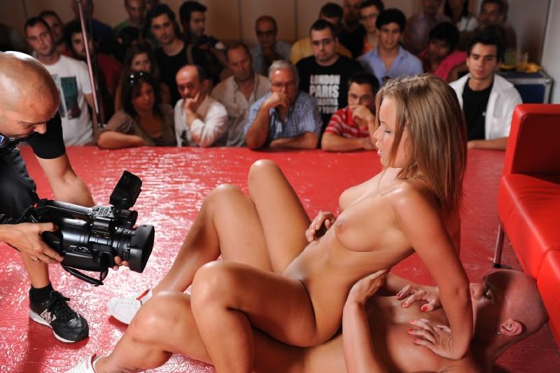 Порно в телешоу видео