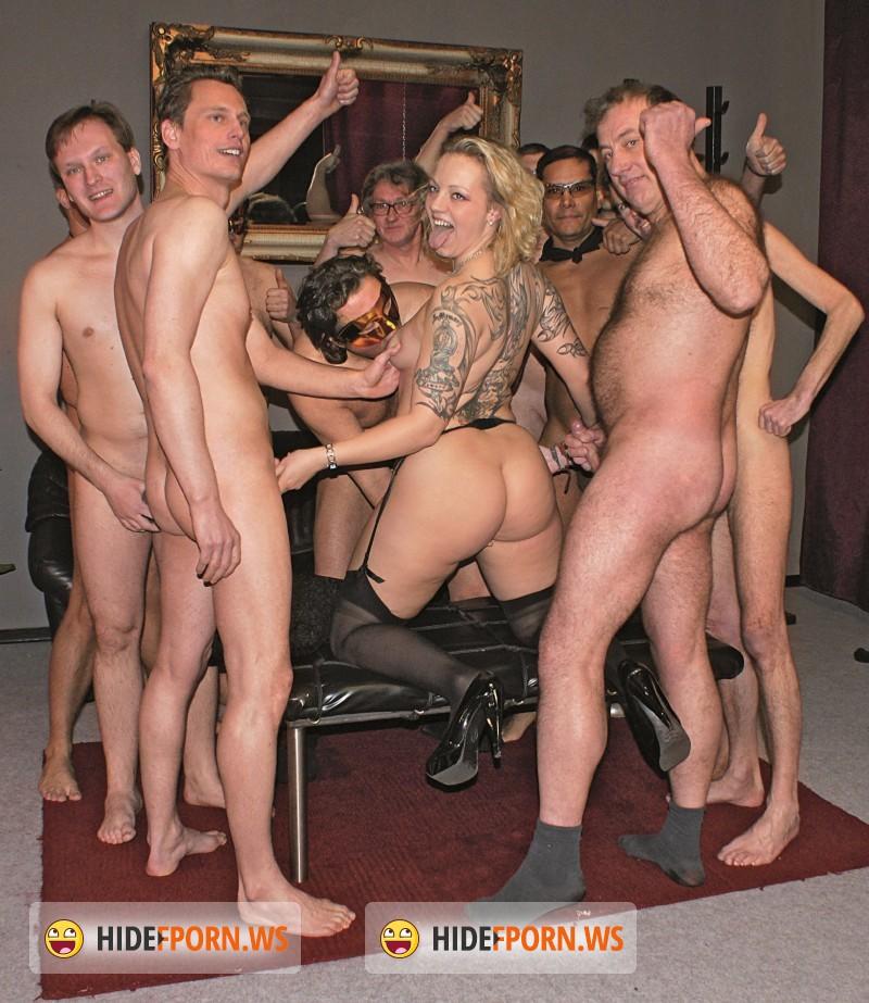 German gangbang porn