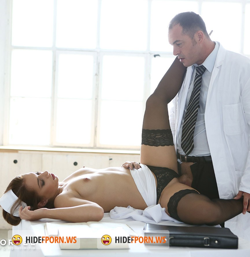 DorcelClub.com - Jenny Glam - Slutty Student Blow Her Prof Under The Desk [FullHD]