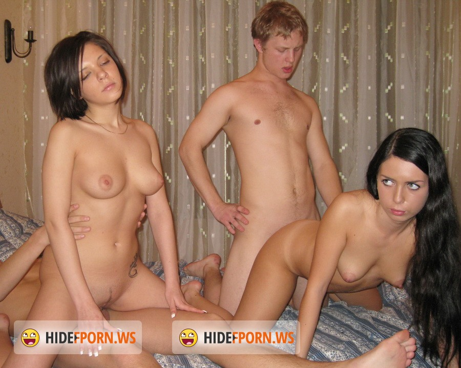 YoungSexParties.com - Cristina, Janna - New Year Party With Champagne And Cum [HD 720p]