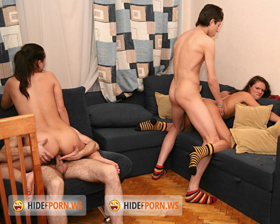 CollegeFuckParties.com - Oksana, Mia, Phoenix - Hardcore Sex Parties After Classes Part 6 [HD 720p]