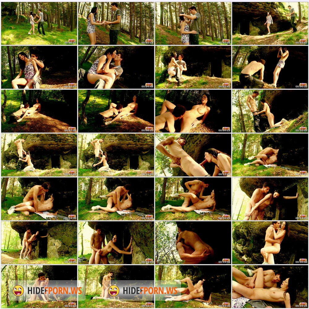 TeenDorf.com - Karolina - Hot Fucking For A Walk In The Woods [FullHD 1080p]