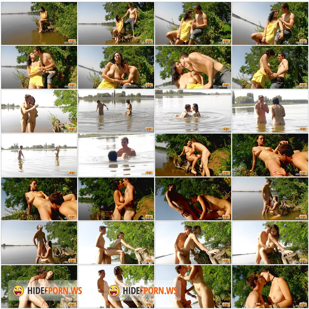 TeenDorf.com - Erika - Hot Sex With A Beautiful Young Girl On The Lake [HD 720p]