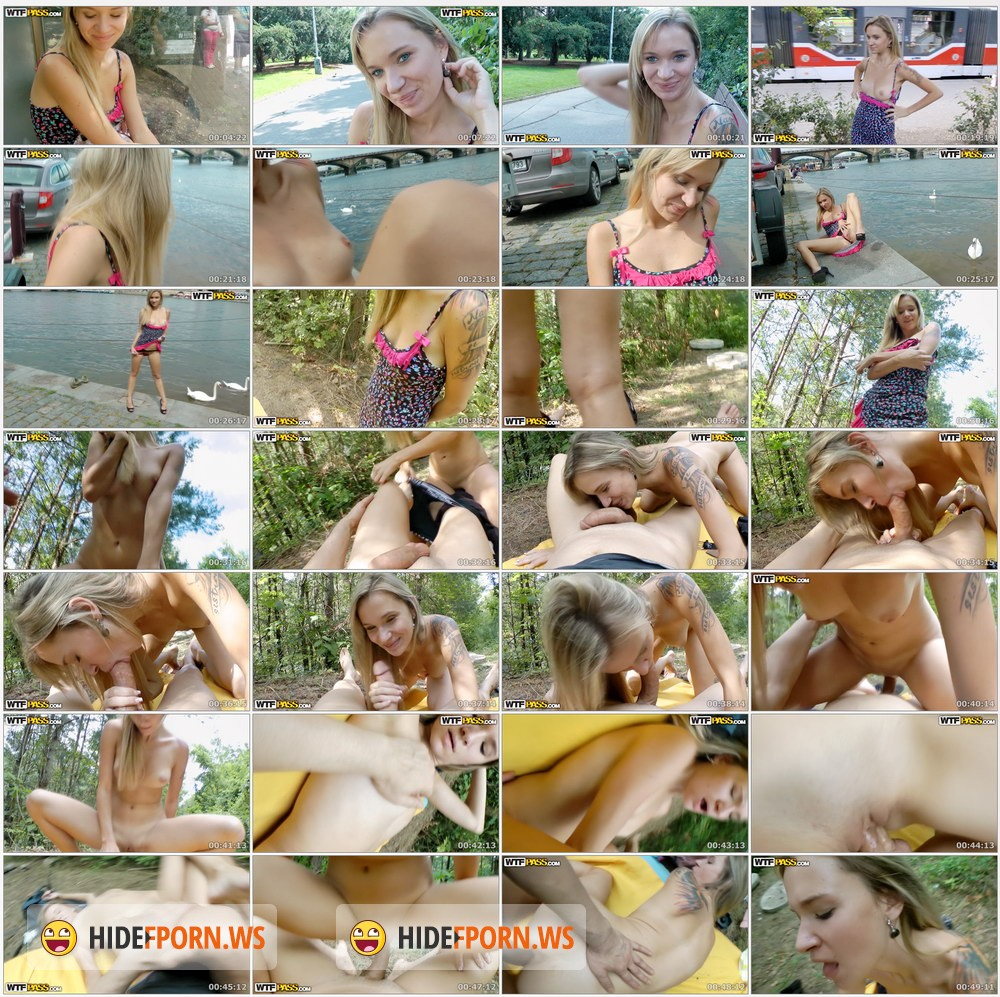 PublicSexAdventures.com - Beatrice - Crazy Public Fuck By The River [HD 720p]