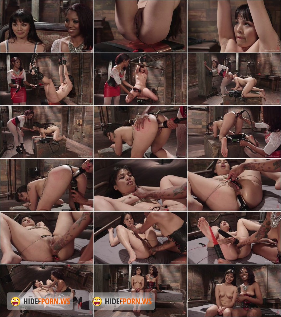 ElectroSluts.com/Kink.com - Milcah Halili, Lotus Lain - Intense Anal Electro Domination: Tough Slut Pushed to Her Limits! [HD 720p]