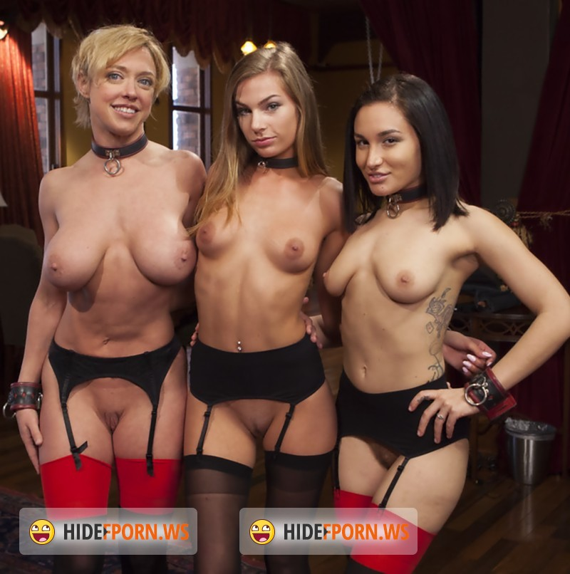Darling, Karlo Karrera, Gabriella Paltrova, Sydney Cole - Disorderly House Slaves Disciplined with Chains and Anal [SD]