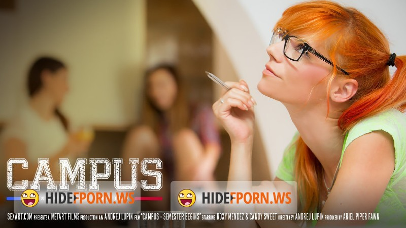 SexArt.com - Candy Sweet, Roxy Mendez - Campus Episode I - Semester Begins [FullHD 1080p]