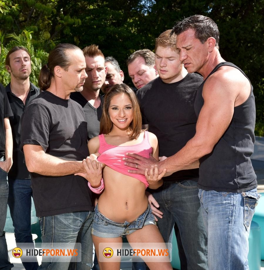 HardX.com: Sara Luv - Sara Luvv In '10 Guy Blowbang' [FullHD]