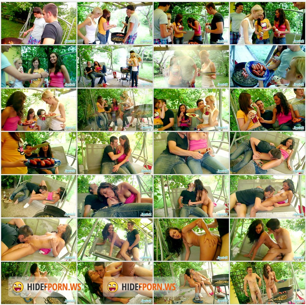 TeenBurg.com - Violla, Rosa, Laska - The Hot Teen Fucking On Picnic [HD 720p]