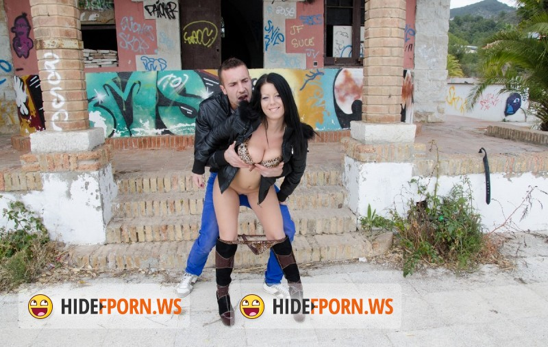PublicInvasion.com - Klaudia Hot - Natural Tits And Graffiti  [FullHD]