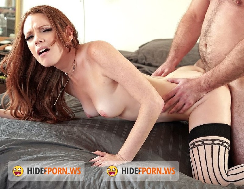 PervsOnPatrol.com/Mofos.com - Kassondra Raine - Ginger Amateur Takes it Deep [HD]