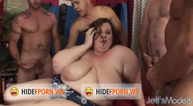 JeffsModels.com - Big Women - Fat and Gang Banged [SD 480p]
