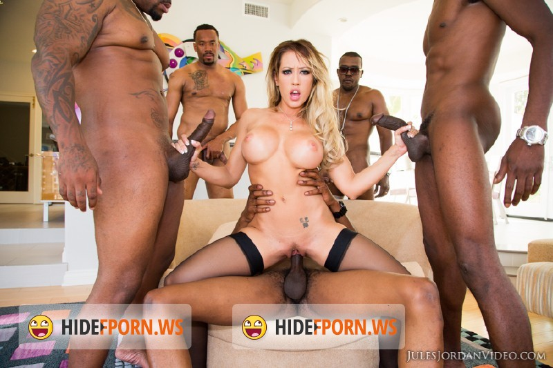 JulesJordan.com - Capri Cavanni - Capri Cavanni Gets Sucked Into A Black Hole Gang Bang [SD 360p]