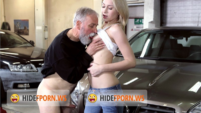 - Frances - Frances takes advantage of old goes young guy to land plum job [FullHD 1080p]