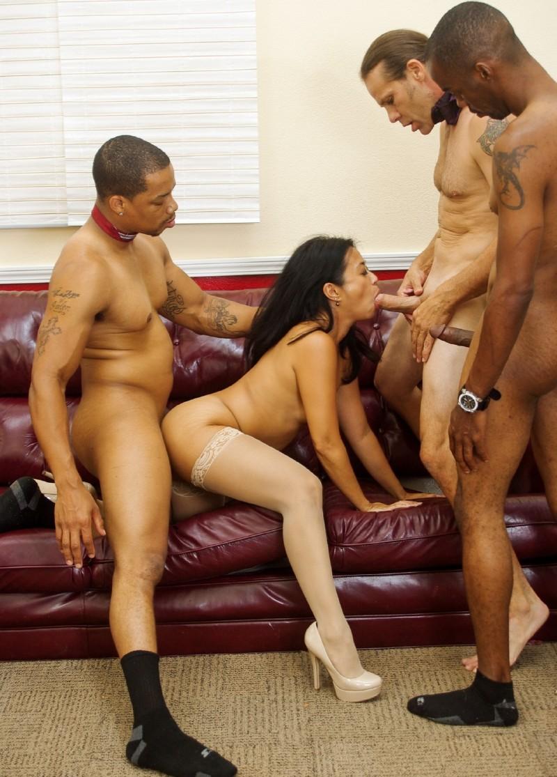 Kaila mai and lorelai givemore in a hot foursome 8