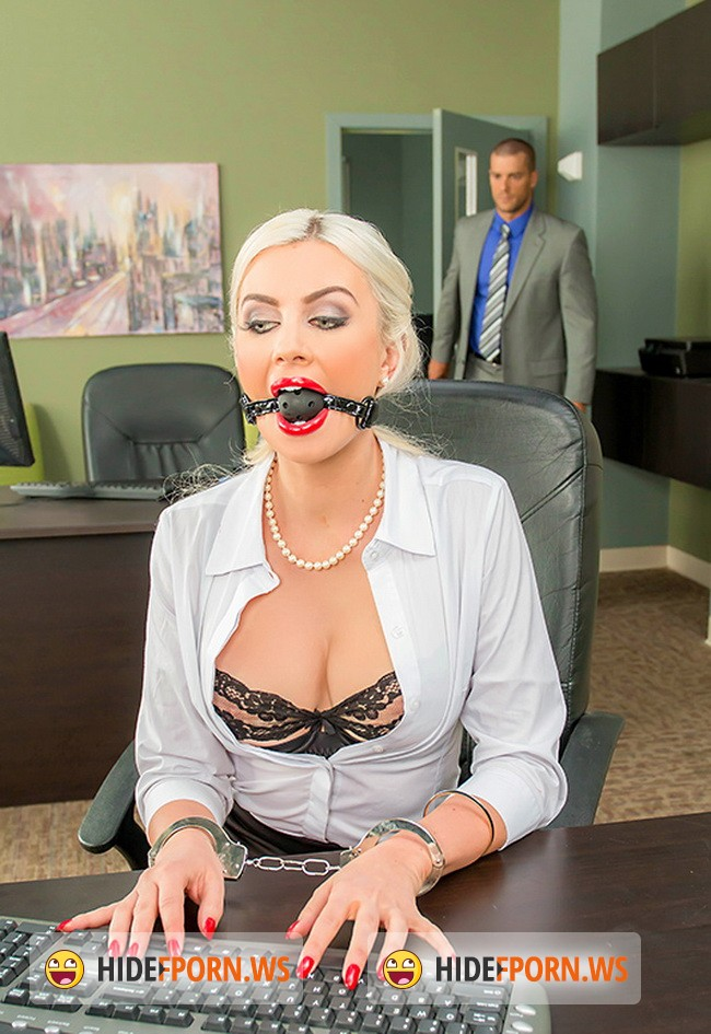 BigTitsAtWork.com/BraZZers.com - Gigi Allens - Chained To Her Desk [HD 720p]