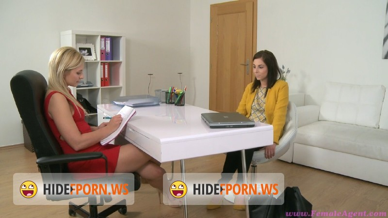FemaleAgent.com - Antonia Sainz - Lesbian fantasy fulfilled on the casting couch [HD 720p]