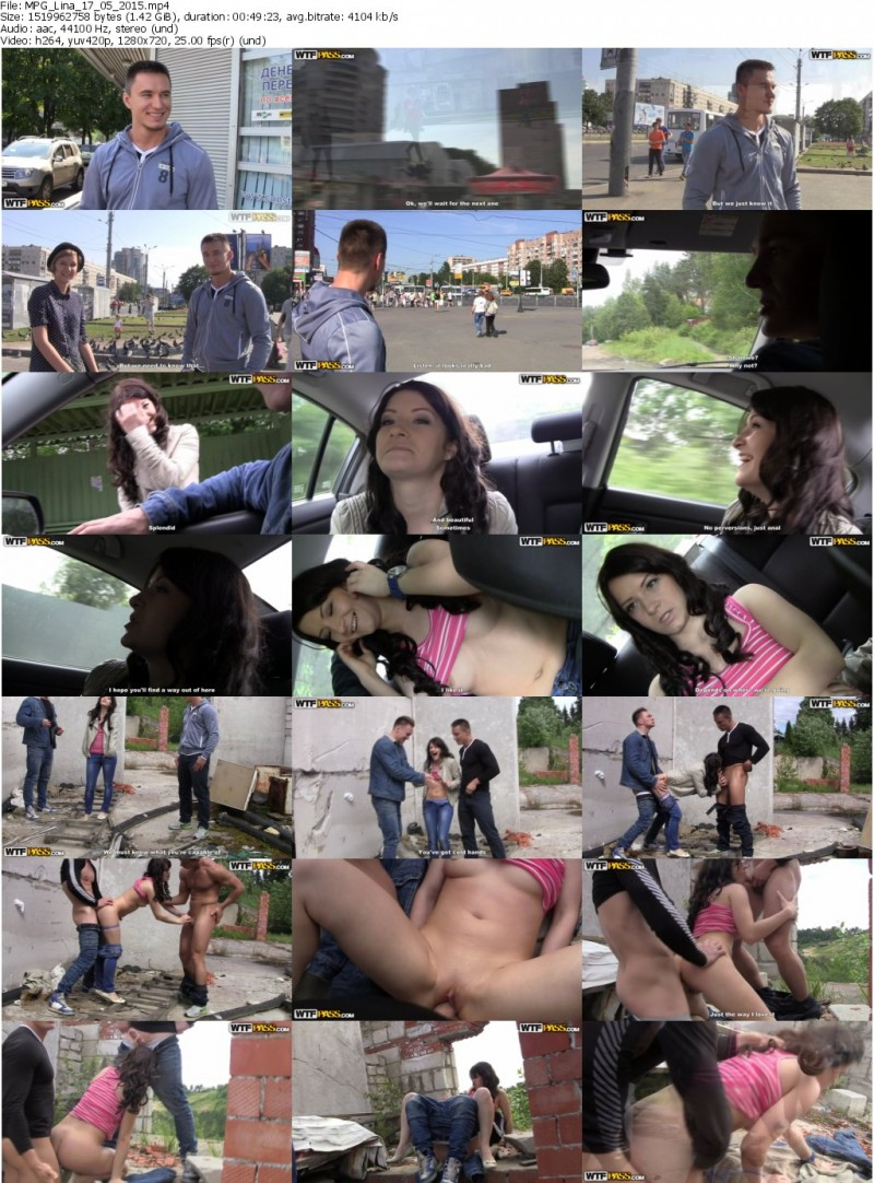 MyPickupGirls.com - Selena - Sassy Brunette Takes Part in a Hot Reality Sex Show [HD 720p]
