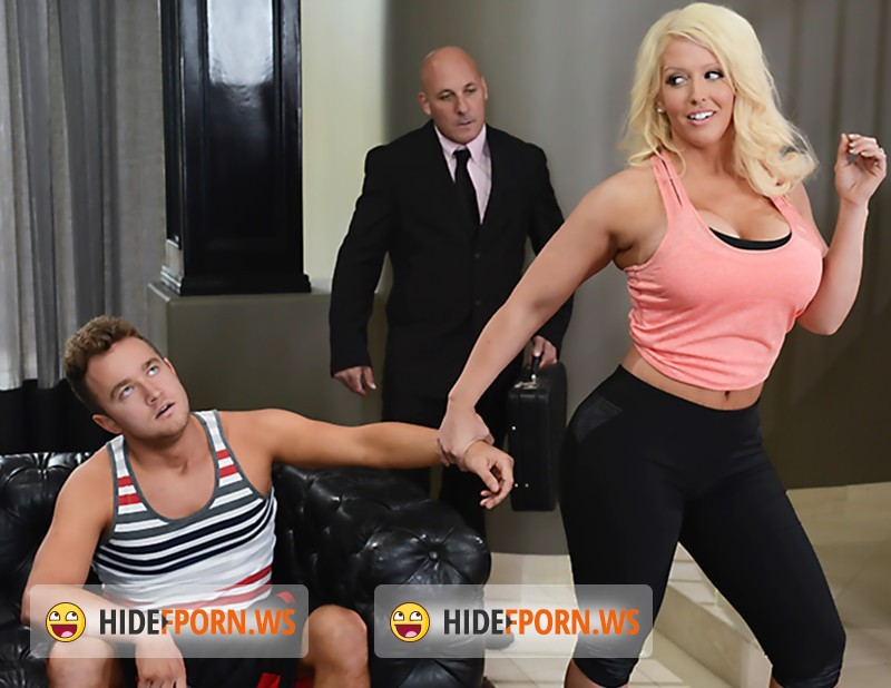 MommyGotBoobs.com/BangBros.com - Alura Jenson, Van Wylde - Off The Couch (And Into My Stepmom) [HD]
