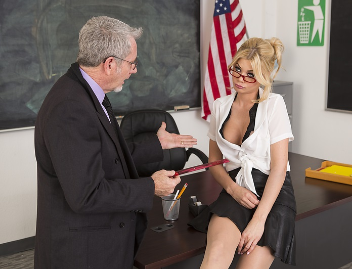 Wickedpictures.com - Riley Steele - Axel Brauns School of Fuck, Scene 1 [FullHD 1080p]