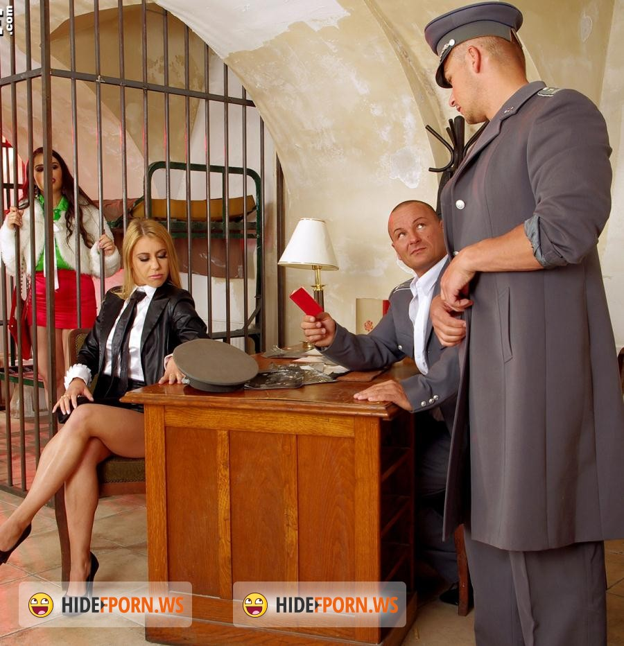 PervyOnes.com/SinDrive.com: Nikky Thorne, Mira Cuckold - Rimming Rascals In Strap-on-Trouble: Street Hooker Vs. VIP Escort - Whos The Leader Behind Bars? [HD 720p]