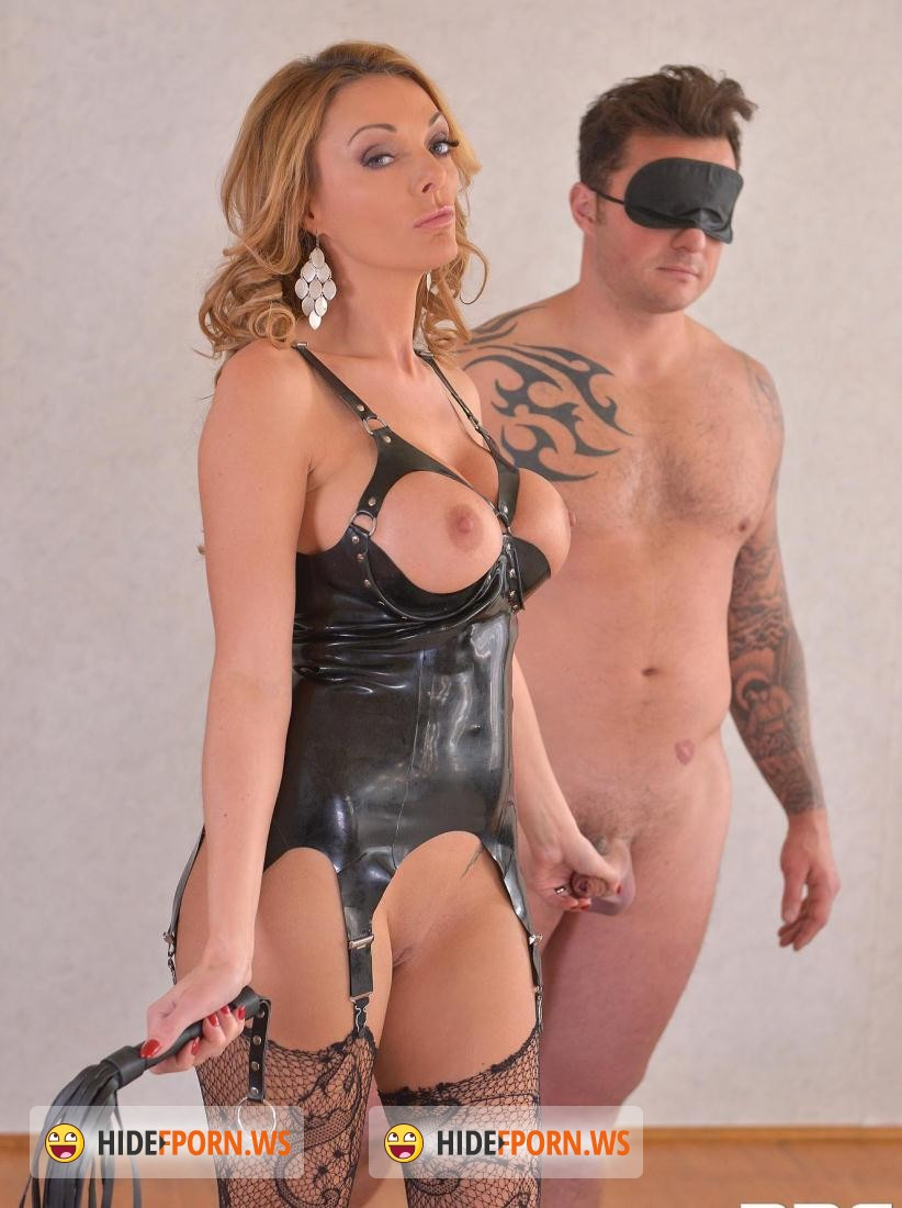 Stacey Saran - British Dominatrix Uses Stud for Pussy Pleasure Program [HD 720p]