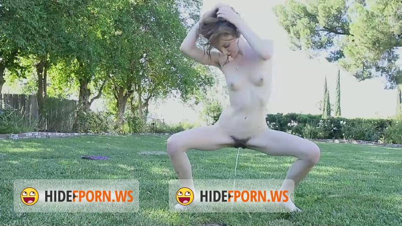 ATKHairy.com - Emma Evins - Emma Evins is like a wild animal, frolicking outside in the nude [FullHD 1080p]