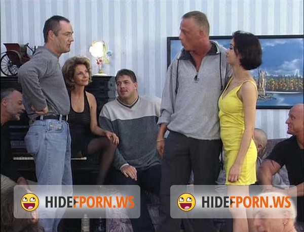 FamilyTabu.com: Amateur - Real German Mother & Daughter Gangbanged by 18 Men ! [SD 400p]