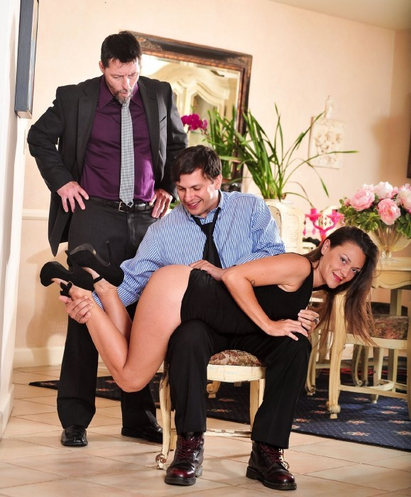 DevilsFilm.com - Olivia Wilder, Anthony Rosano, Jack Vegas - Seduced By The Bosss Wife 4, Scene 1 [FullHD]