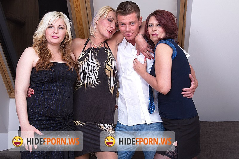 Karisa (35), Charlena (40), Alisah (40) - Four fuck as one [HD 720p]