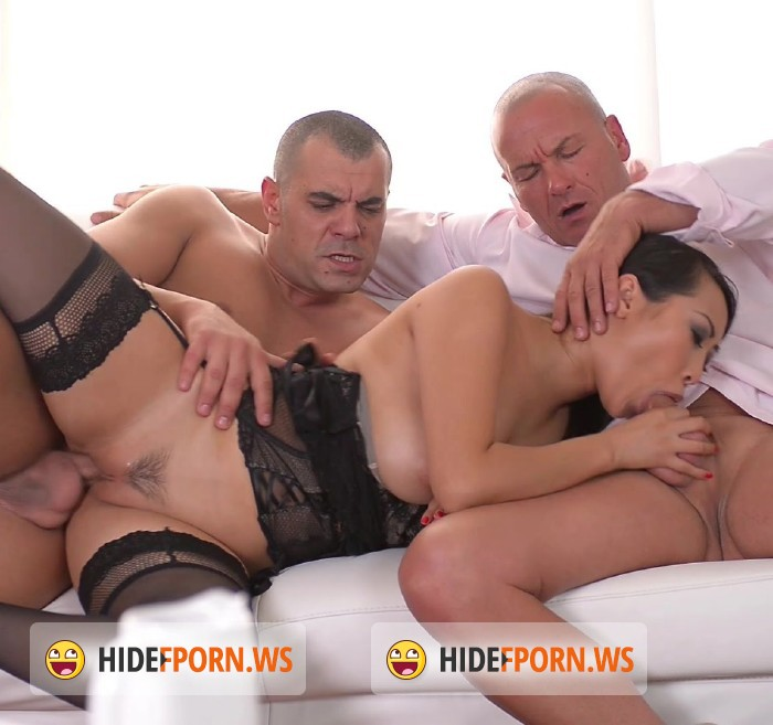 Hands On Hardcore/DDF.com - Sharon Lee - French Asian Hotties Blowjob and Double Penetration Threesome [FullHD]