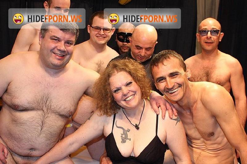 Mature.nl - Tina S. (39) - German chubby mature housewife at a gang bang [HD 720p]