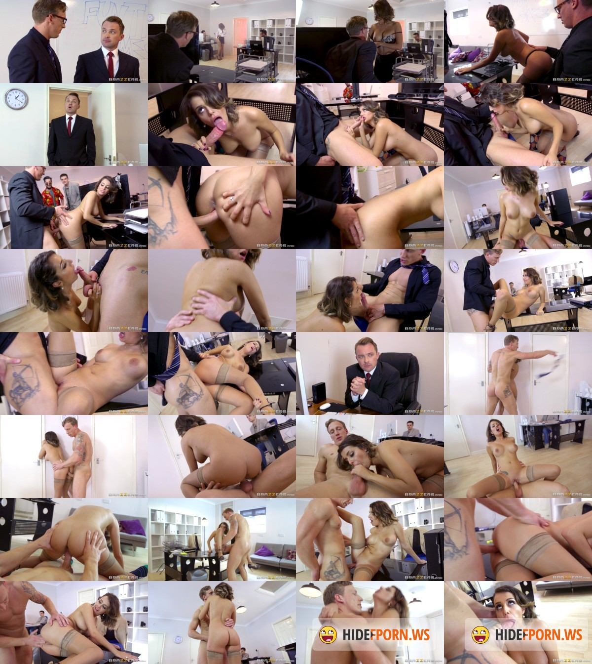 BigTitsAtWork.com/BraZZers.com - Cara Saint-Germain, Luke Hardy - For The Players [HD]