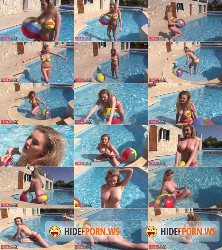 Bethlily.com - Beth Lily - Playing In The Pool [HD 720p]