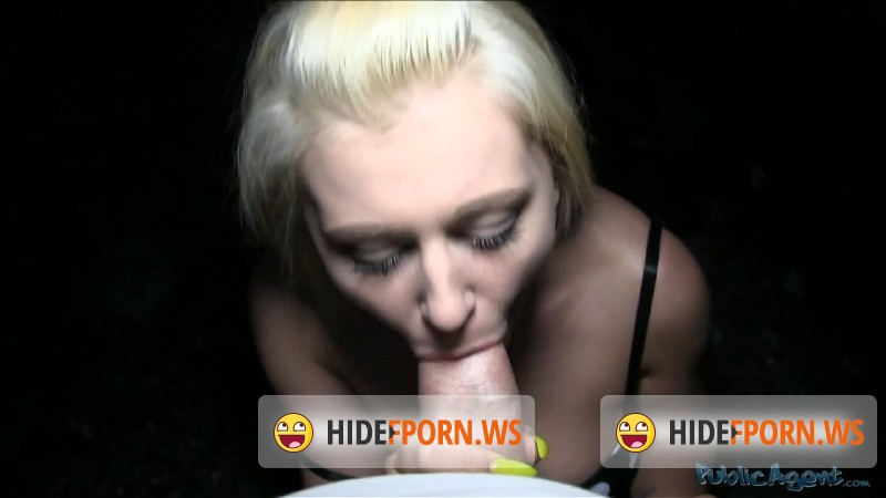 PublicAgent.com/FakeHub.com - Roxy Black - Blonde with big tits gets cum over her tight pussy, Public Agent E335 [HD 720p]
