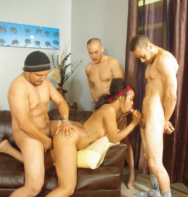 WhiteGhetto.com - Stacy Greene - Black Cheerleader Gang Bang 27, Scene 2 [FullHD 1080p]